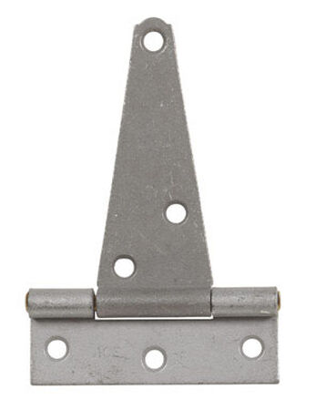 Ace Steel Heavy Duty T Hinge 4 in. L Galvanized 1 pk