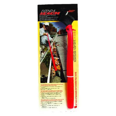 Gutter Getter Extend-A-Reach 17 L Polypropylene Gutter Scraper Red/Black
