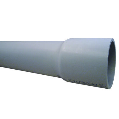 Cantex 2-1/2 in. Dia. x 10 ft. L Electrical Conduit Rigid PVC