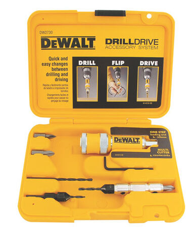 12 PC DRILL / DRIVE HOLDER SET