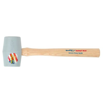 Estwing Deadhead 18 oz. Smooth Hickory Mallet Rubber