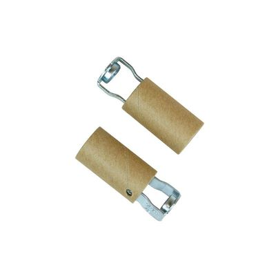 Jandorf Keyless Socket 2 pk 2 in. L White