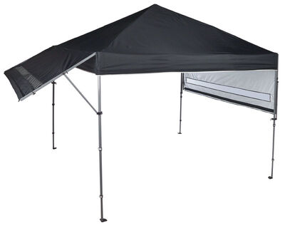 Bravo Solo Steel Summit 170+ Black Polyester Canopy 10 ft. W x 17 ft. L