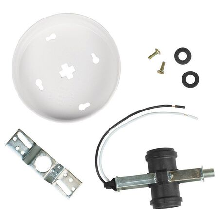 Jandorf Twin Cluster Ceiling Fixture Kit White 1 pk
