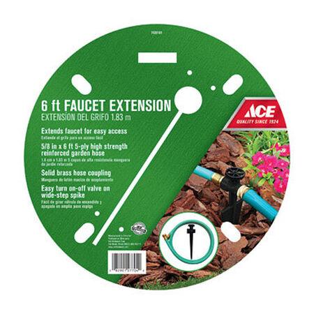 Ace 5/8 in. Dia. x 6 ft. L Faucet Hose Extender