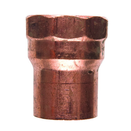Elkhart 1/2 in. Solder x 1/2 in. Dia. Female Copper Adapter 10 pk