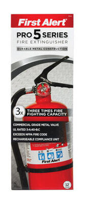 First Alert Pro 5 Series 5 lb. US Coast Guard OSHA For Household Fire Extinguisher