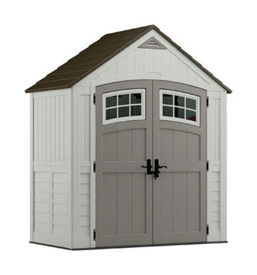 Suncast Cascade Storage Shed 102 in. H x 7 ft. W x 4 ft. D