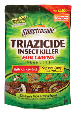 Spectracide Triazicide for Lawns Insect Killer For Common Insects 10 lb.