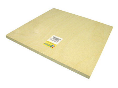 Midwest Products 1/2 in. x 1 in. W x 1 in. L Plywood Plywood