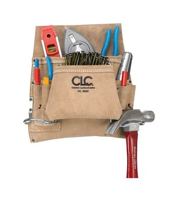 CLC Suede Nail & Tool Bag 8 outside pockets