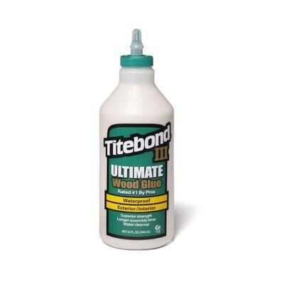 Titebond III Ultimate Waterproof Wood Glue 1 qt.