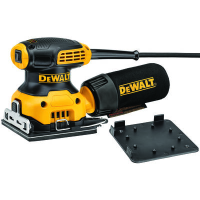 DeWalt 1/4 Sheet Sander 0.25 2.3 amps 120 volts Corded