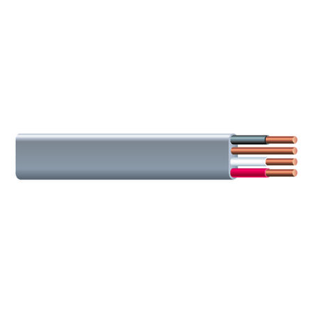 Southwire 50 ft. 12/3 Type UF-B WG Underground Feeder Cable Gray