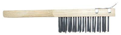 Allway Wire Brush with Scraper 11 in. L