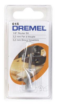 Dremel 1/8 in. Dia. HSS 2-Flute Corner Rounding Router Bit