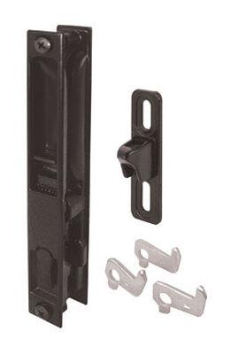 Prime-Line Patio Door Handle Set Die-Cast Black Outdoor