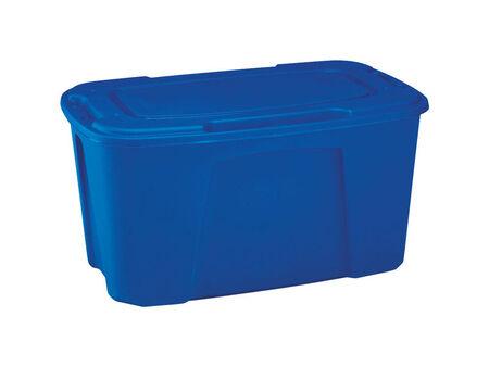 Homz Storage Tote w/Wheels 18-1/2 in. H x 24 in. W x 38-1/8 in. D 49 gal.