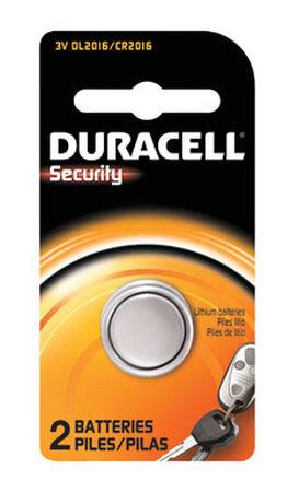 Duracell Keyless Entry Battery 2016 3 volts 2 pk
