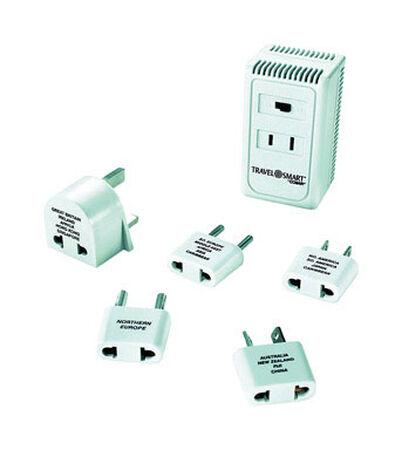 Travel Smart White For Worldwide Wattage Converter