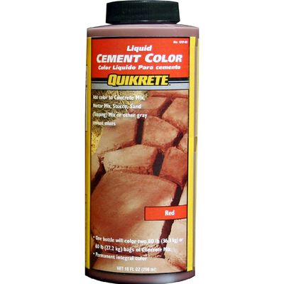 Quikrete 10 oz. Liquid Cement Color Red