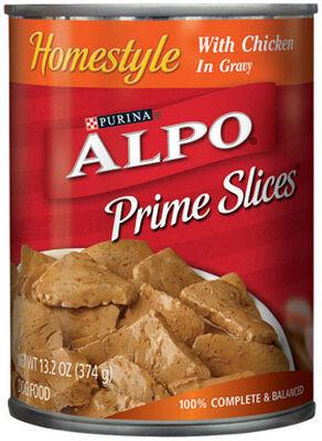 Purina Alpo Prime Classics Adult Chicken Dog Food 13.2 oz.