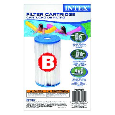 Intex Pool Filter 10.5 in. H x 17-3/4 in. L x 11-7/8 in. W