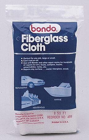 Bondo Fiberglass Cloth 8 sq. ft. For For Marine Automotive & Household Use