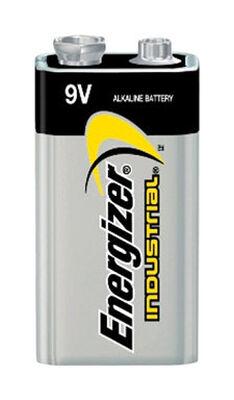Energizer Industrial 9V Alkaline Batteries 9 volts 12 pk
