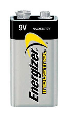 Energizer Industrial 9V Alkaline Batteries 9 volts 12 pk