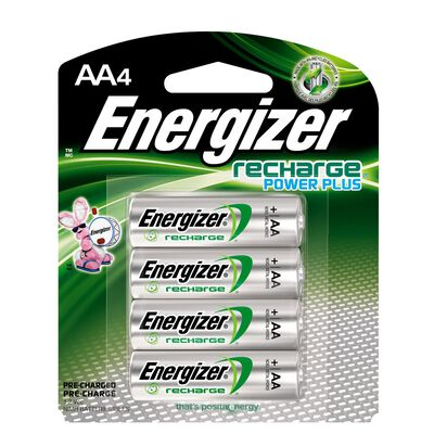 Energizer POWER PLUS NiMH AA 1.2 volts Rechargeable Battery NH15BP-4