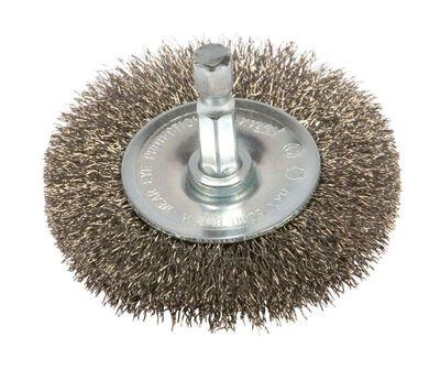 Forney 2 in. Dia. Fine Crimped Wire Wheel Brush 6000 rpm