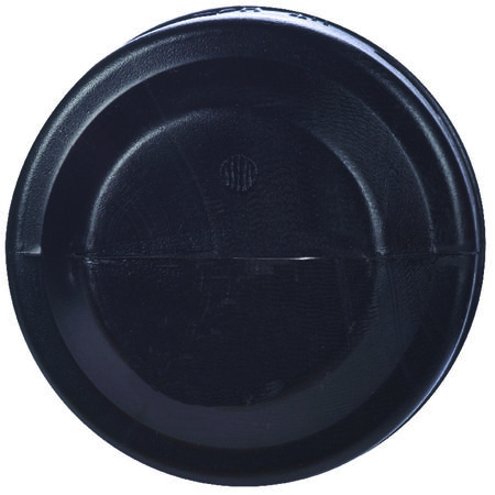 ADS 4 in. Dia. Snap-In Polyethylene Snap End Cap