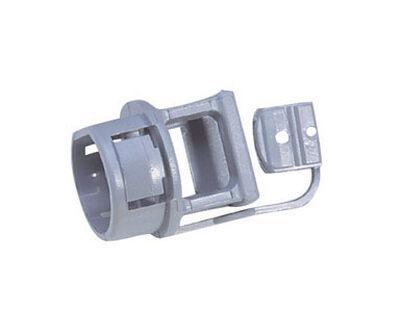 Gampak Sigma Non-metallic Cable Connector Gray 3/8 in. Dia. 10 pk