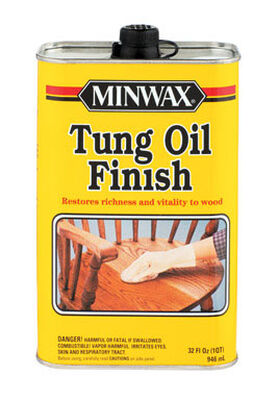 Minwax Oil-Based Clear Low Lustre Tung Oil 1 qt.