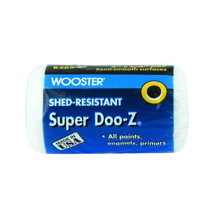 Wooster Super Doo-Z Fabric 3/8 in. x 4 in. W Paint Roller Cover 1 pk