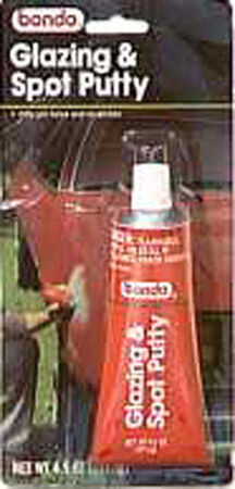 Bondo Glazing and Spot Putty 4-1/2 oz. For Fills Imperfections Pits Scratches & Shallow Dents