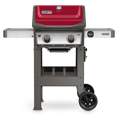 Weber Spirit II E-210 2 burners Propane 44.5 in. H Grill Red 26 500 BTU