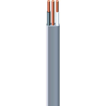 Southwire 100 ft. 14/2 Type UF-B WG Underground Feeder Cable Gray