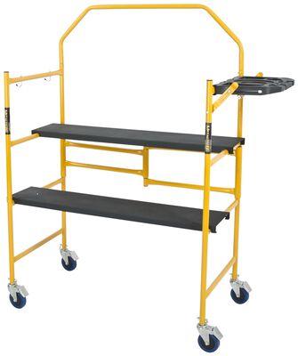 4 ft. Scaffold shelf guard rail w/wheel