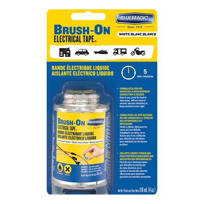 Blue Magic Liquid Brush-On Electrical Tape White