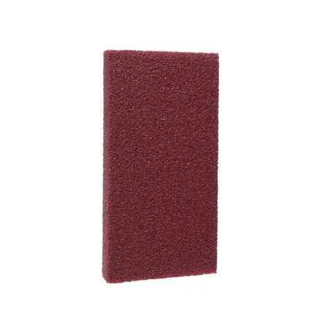 3M SandBlaster 4-1/2 in. L x 2-1/2 in. W x 1 in. 100 Grit Medium Dual Angle Sanding Sponge