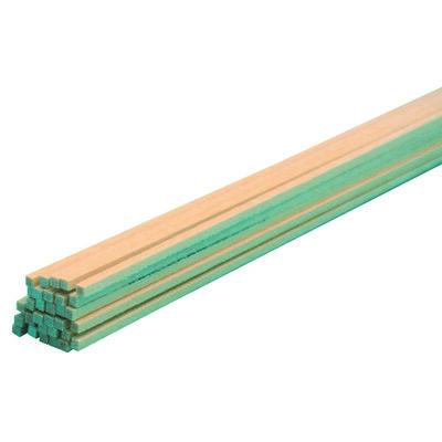 Midwest Products Basswood Strip 1/16 in. x 1/16 in. W x 2 ft. L