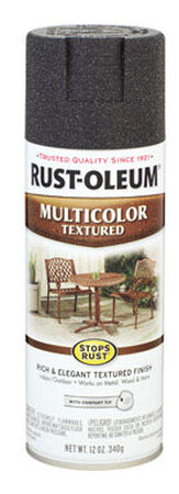 Rust-Oleum Stops Rust Aged Iron Textured Multicolor Textured Spray 12 oz.