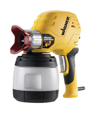 Wagner Spray Tech Power Painter Plus Paint Sprayer 2200 psi Plastic Airless 11.5 in. H x 12.25