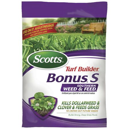 Scotts Turf Builder Bonus S Weed and Feed Southern 10000 sq. ft. 29-0-10