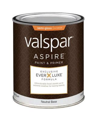 Valspar Aspire Exterior Acrylic Latex Paint & Primer 1 qt.