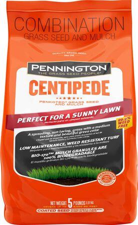 Centipede 5 lb w/mulch