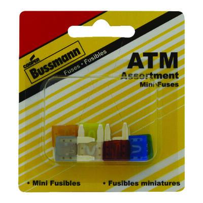 Bussmann 30 amps ATM Automotive Fuse Assortment 8 pk