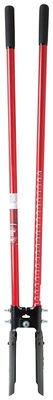 Ace 9 in. L x 6 in. W x 48 in. L Steel Atlas Pattern Post Hole Digger Fiberglass